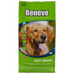 Hrana uscata vegetariana Benevo, ingrediente naturale, 2Kg, pentru caini