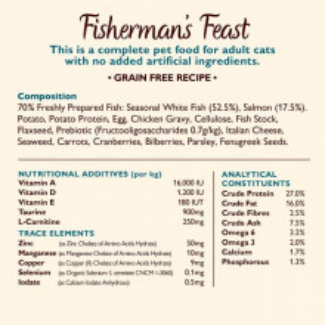 Lily's Kitchen - Fisherman's Feast - hrana uscata pentru pisici, cu somon 2kg