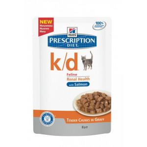 Plic pisici Hills k/d 85g - probleme renale