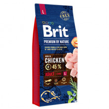 Brit Premium by Nature Adult L 15 kg