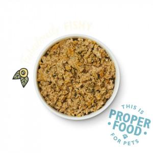 Hrana umeda Lily's Kitchen, ingrediente Naturale, cu Peste (hering&somon), 150g, pentru caini