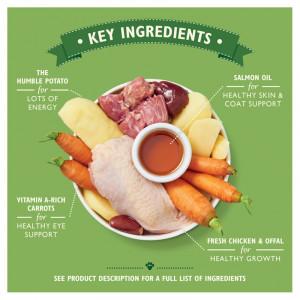 Hrana umeda pentru caini Lily's Kitchen Puppy Recipe Chicken 400g