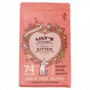 Hrana uscata Lily's Kitchen, ingrediente Naturale, cu Pui, 800g, pentru pisici junioare