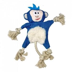 Jucarie pentru caini sau pisici - Maimuta albastra fosnitoare