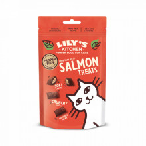 Lily's Kitchen Cat Salmon Pillow Treats 60g