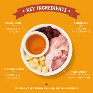 Lily's Kitchen - Chicken Casserole - hrana uscata cu pui 800g
