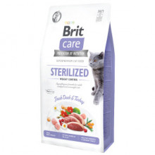 Brit Care Cat GF Sterilized Weight Control 7 kg