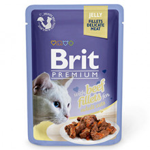 Brit Cat Delicate Beef in Jelly 85 g