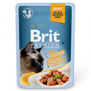 Brit Cat Delicate Tuna in Gravy 85 g