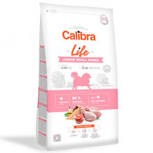 Calibra Dog Life Junior Small Breed Chicken 1.5 kg
