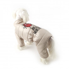 Haina caini PUPPY ANGEL- Angel Monster PADDING - Salopeta Unisex PA-OW364