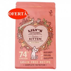 Lily's Kitchen - Hrana uscata pentru pui de pisica, 800g - valabilitate redusa