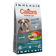 Calibra Dog Premium Senior and Light 3 kg NEW