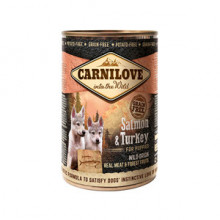 Carnilove Wild Meat Salmon and Turkey for Puppies 400 g