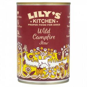 Hrana umeda Lily's Kitchen, cu Vanat, Fazan si Somon, 400g, pentru caini