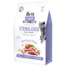 Brit Care Cat GF Sterilized Weight Control 400 g