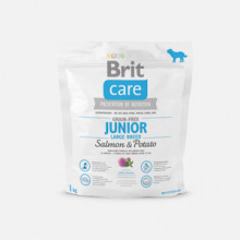 Brit Care Grain-free Junior Large Breed Salmon and Potato 1kg