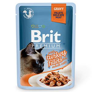 Brit Cat Delicate Turkey in Gravy 85 g