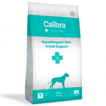 Calibra VD Dog Hypoallergenic Skin and Coat Supp. 12 kg