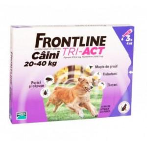 Frontline Tri-Act L caini 20-40kg