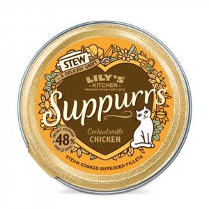 Hrana umeda, Lily's Kitchen, fileuri maruntite din pui, pisica, 85g
