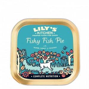 Hrana umeda pentru caini Lily's Kitchen Fishy Fish Pie 150g