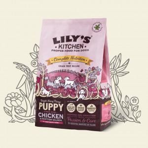 Hrana uscata Lily's Kitchen, ingrediente Naturale, cu Pui, 1kg, pentru caini juniori