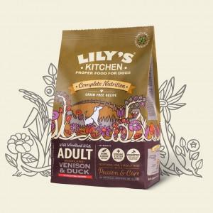 Hrana uscata Lily's Kitchen, ingrediente Naturale, cu Vanat, 12kg, pentru caini