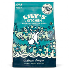 Lilys Kitchen for Dogs Salmon Supper Adult Dry Food 2.5 kg
