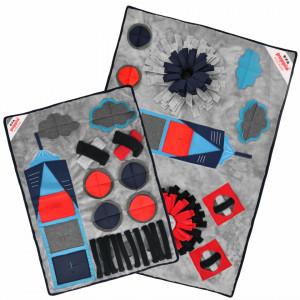 Patura interactiva caini Puppia Puptropolis Multicolor PAUD-NW1867