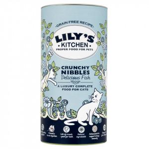 Lily's Natural bobite crocante cu peste (pentru pisicute)