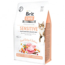 Brit Care Cat GF Sensitive Healthy Digestion and Delicate Taste 400 g
