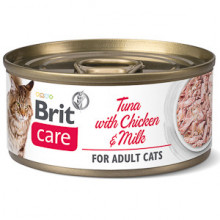 Brit Care Cat Tuna With Chicken and Milk 70 g