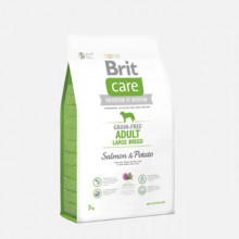 Brit Care Grain-free Adult Large Breed Salmon and Potato 3 kg