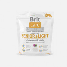 Brit Care Grain-free Senior and Light Salmon and Potato 1 kg