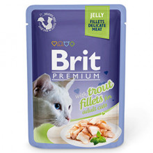 Brit Cat Delicate Trout in Jelly 85 g