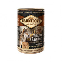Carnilove Wild Meat Venison and Reindeer 400 g