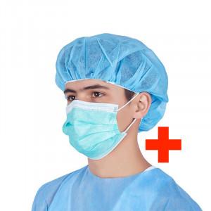 Masti chirurgicale Maskora, certificate uz medical II (cutie 50 buc)