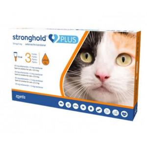 Stronghold Plus 30mg pisici 2.5-5kg