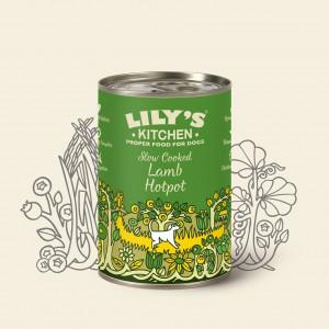 Hrana umeda pentru caini Lily's Kitchen Lamb Hotpot 400g