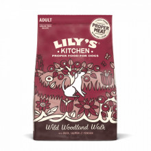 Lilys Kitchen for Dogs Dog Duck, Salmon and Venison Woodland Walk Adult Dry Food 12kg