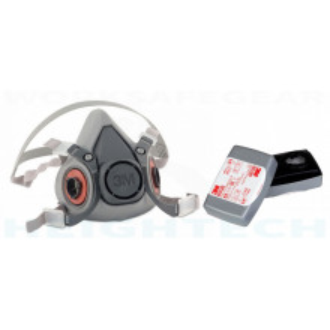 Masca 3M 6200 cu filtre FFP3/P3 protectie biologica/industriala 6038
