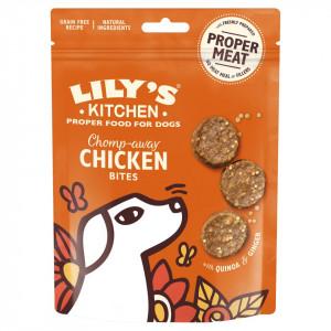 Recompense pentru caini Lily's Kitchen Chomp-away Chicken Bites 70g