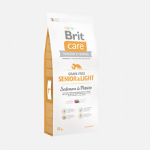 Brit Care Grain-free Senior and Light Salmon and Potato 12 kg