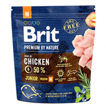 Brit Premium by Nature Junior M 1 kg