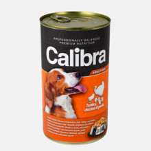 Calibra Dog Conserva Turkey and Chicken and Pasta in Jelly 1240 g