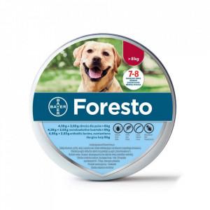 Foresto zgarda >8kg pentru caini