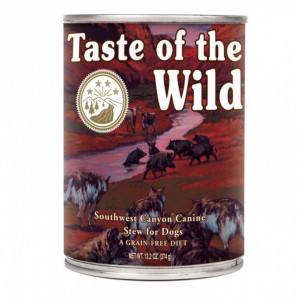 Hrana umeda Taste Of The Wild Southwest Canyon, cu vita, 390g, pentru caini