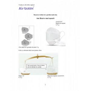 Masca FFP2 AirQueen reutilizabila