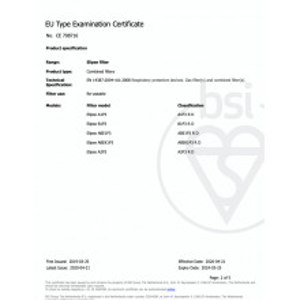 Masca FFP3/ GVS Elipse P3 reutilizabila, cu valva, autoclavabila, filtrare virusi, cu filtru anti miros